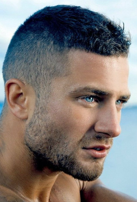 Short haircut for men with thick hair - Caesar hairstyles - Latest ...