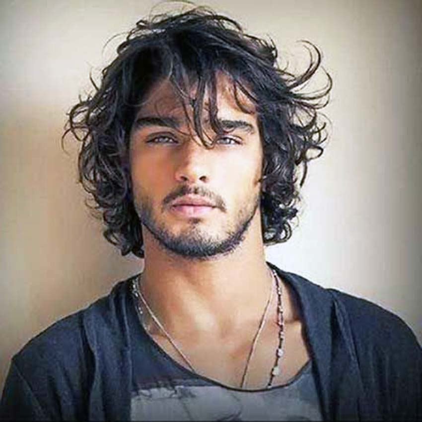 mens curly hair styles the best s wavy hairstyles ideas of this century 1881