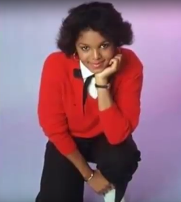Janet Jackson Curly cheek-length bob