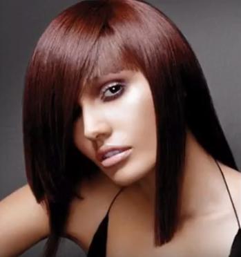 Auburn hair Color 2