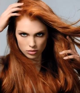 Auburn hair Color 6