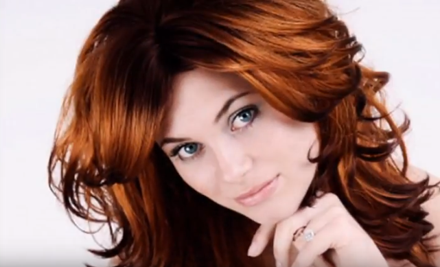 Auburn hair Color 7
