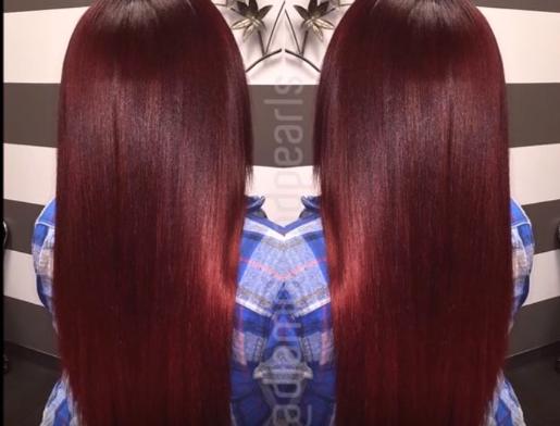 Auburn hair Color for Black Girl 2