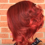 Auburn hair Color for Black women 10 - dark red auburn hair