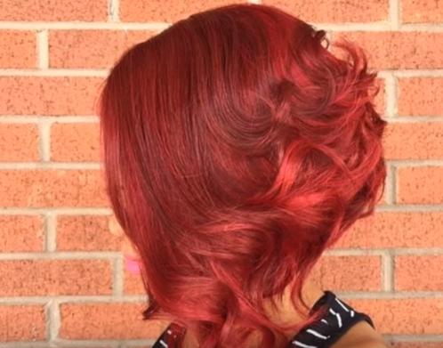 Auburn hair Color for Black women 10 - dark red auburn hair