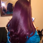 Auburn hair Color for Black women 7